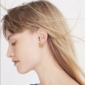 NWT Madewell Star Earrings
